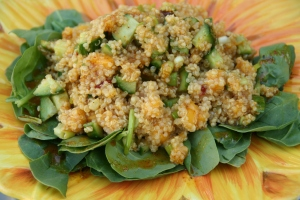 Curried Mango Quinoa Salad Deliciousness