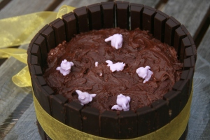 pig out on vegan chocolate cake