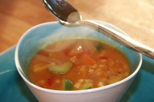 Multi-grain super simple soup
