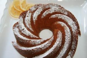 Vegan meyer lemon cake